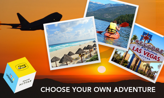 CHOOSE YOUR OWN ADVENTURE WITH OTTERBOX & HITFAR